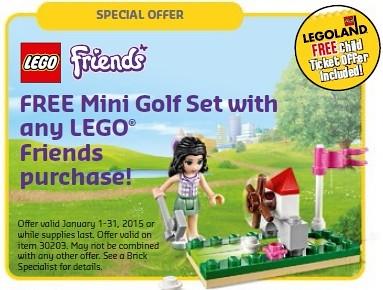 LEGO Friends Mini Golf Set 30203
