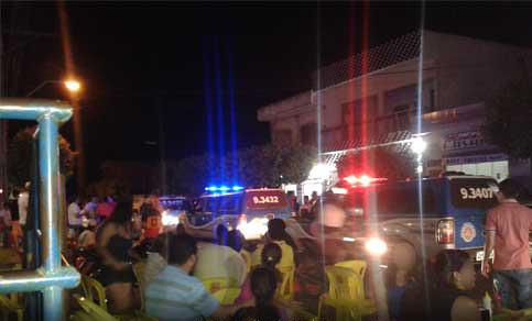 Malhada de Pedras: Polícia é hostilizada por um grupo de pessoas