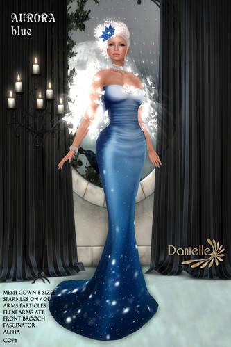 DANIELLE Aurora Blue