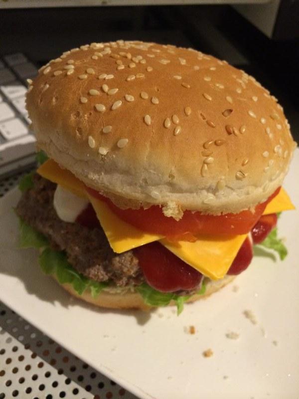 burger homemade