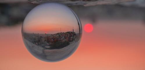 city sunset sun landscape ecuador crystal ciudad stadt landschaft peñas guayaquil crystalball throughmycrystalball landscapephotograhpy