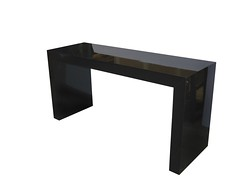 Black-Gloss-U-Table