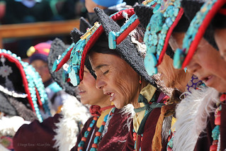 Cham festival holiday - women in perak