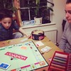 Playing monopoly with kiddos :) #monopoly #kids #together #forfun