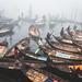Boats of Buriganga. by A. adnan