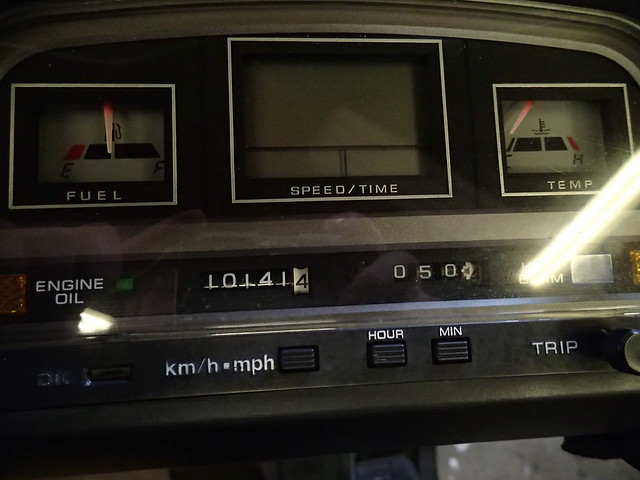 1986 Honda Elite 250 mileage 1/1/15
