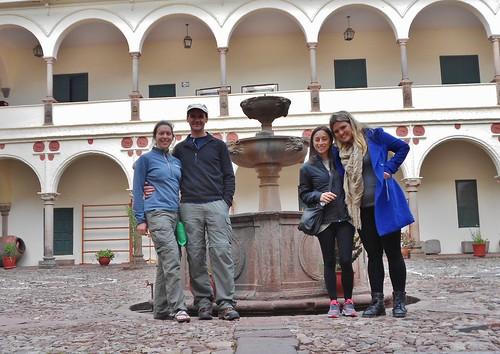 Inca Museum Courtyard