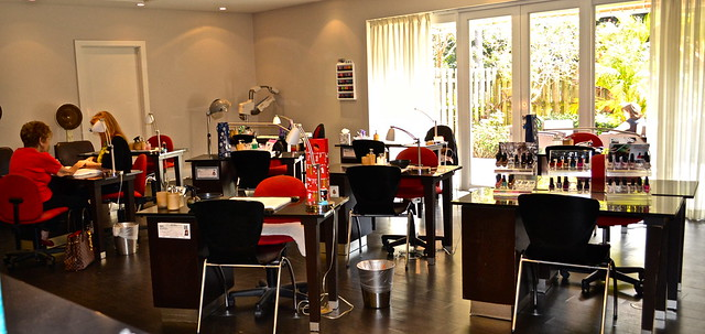 PGA National Resort and Spa - manicure center