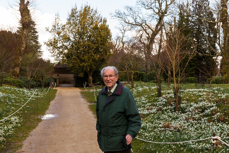 Dad at Kingston Lacy