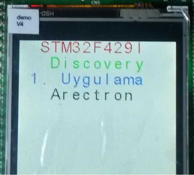 STM32F429I Discovery Keilde Proje oluşturma.