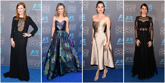 Critics Choice Awards Best Dressed 2