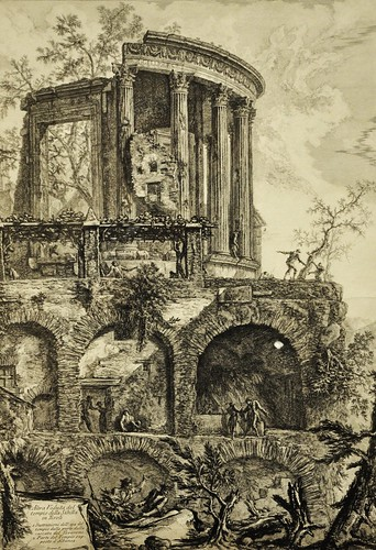 Giovanni Battista Piranesi (výstava v Clam-Gallasově paláci v Praze)