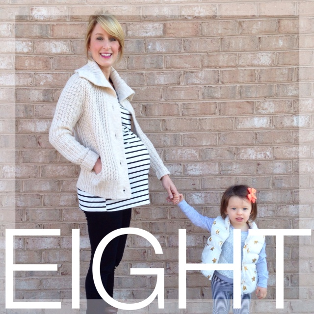 Baby #2: Eight Months