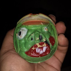 Madballs original, foam rubber. #RagingNerdgasm #rare #Madballs #toyhustle #ToyHunting #ToyGameTedDiBase #TomKhayos #toysagram #ToyGamePabloEscobar #toytrades
