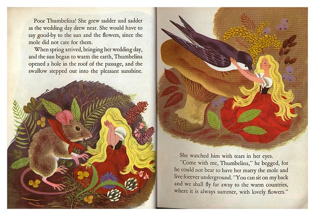 012-Tenggren's Thumbelina-Illustrated Gustaf Tenggren-Copyright 1953-via goldengems.blogspot