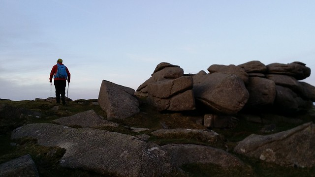@hillplodder walking over Belstone Common