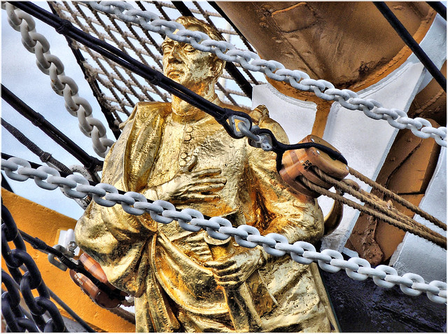 4164-Amerigo Vespucci no Porto da Coruña.