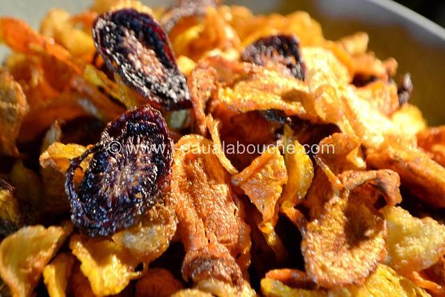Chips de Carottes © Ana Luthi Tous droits réservés