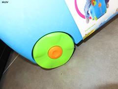 Valise Trunki Bleue Terrance  roues