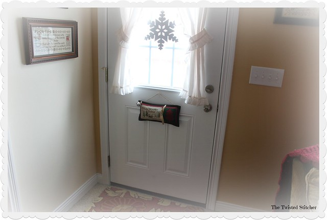 Winter Back Door