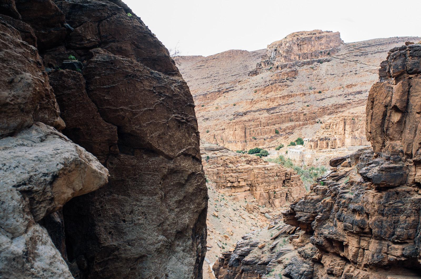 Amtoudi, anti-Atlas - 5 jours de trek au Maroc - L'entrée du canyon