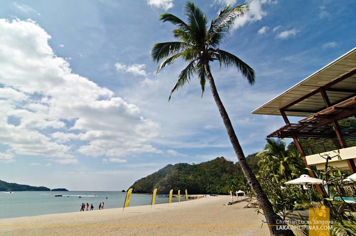 Pool Beach Area at Pico de Loro Cove in Hamilo Coast, Batangas