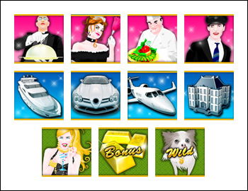 free Take 5 Million Dollars slot game symbols