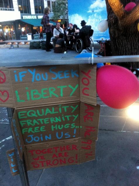 OccFri #13: Equality, Fraternity, Free Hugs