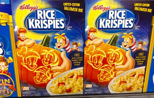 Rice Krispies Cereal Halloween, Kellogg's, 10/2014 by Mike Mozart of TheToyChannel and JeepersMedia on YouTube #Rice #Krispies