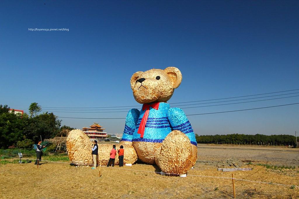 臺中地景藝術節 迷失小熊 (7)