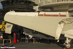 161227 602 - A-67 - US Navy - Grumman E-2C Hawkeye - USS Midway Museum, San Diego, California - 141223 - Steven Gray - IMG_6774