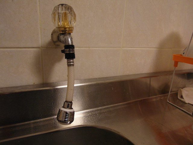 原本使用的起波器@ALYA歐漾龍頭式淨水器