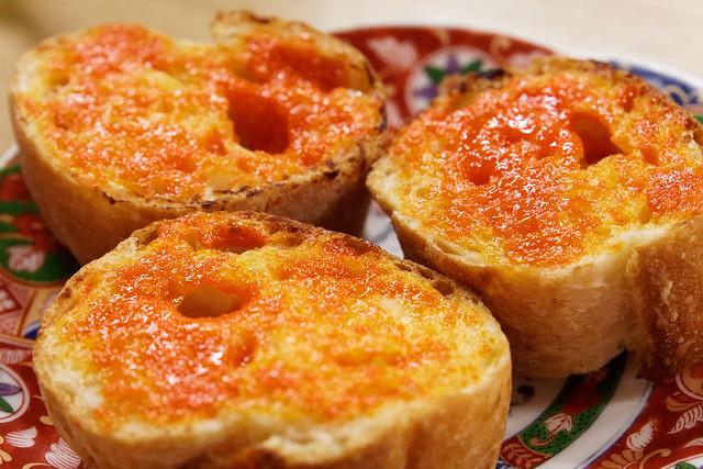 Urchin Toast