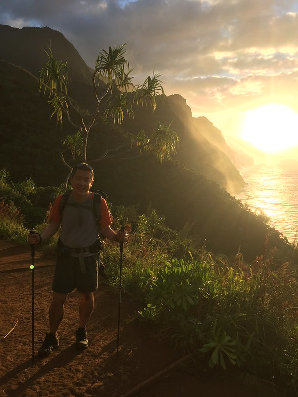 Na Pali Coast hike!