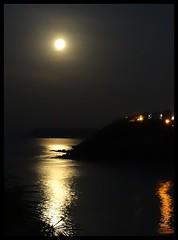 Goa Moonset