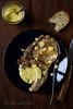 Côte de porc sauce moutarde