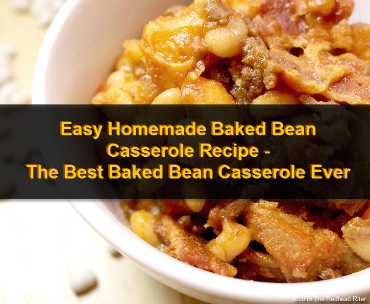 Easy Homemade Baked Bean Casserole Recipe tw