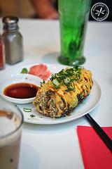Tempura Salmon Roll