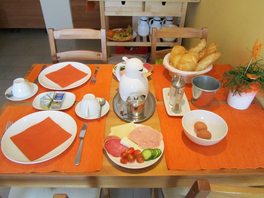 Desayuno Penzion Delanta.