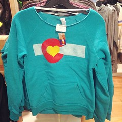 New @coloradoloveclothing slouchy women's sweatshirts came in today!