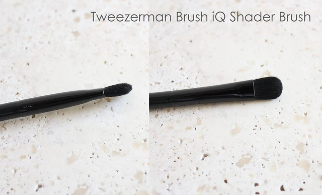 Tweezerman Brush iQ shader brush review