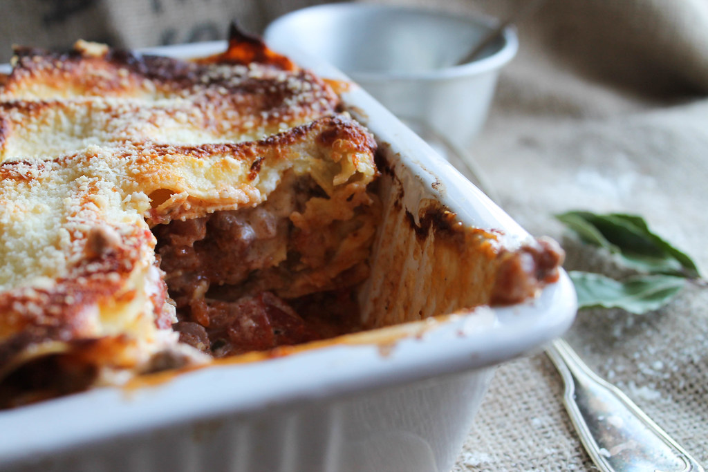 Recette de Lasagnes à la bolognaise