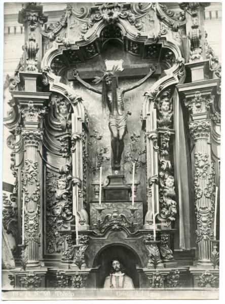306 - Imagen del Cristo de las Aguas en la iglesia de la Magdalena