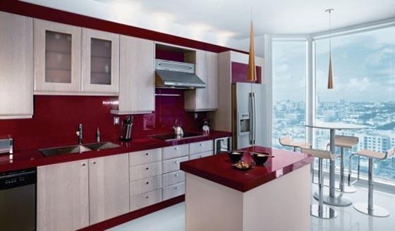 Miami Top Impressive Small Kitchen Interior Design A Photo On