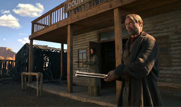 Eva Green and Mads Mikkelsen get their revenge in THE SALVATION.