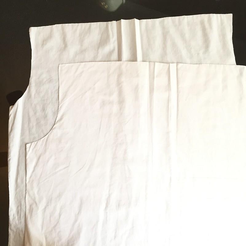 UGLY Skirt Challenge - In Progress 1