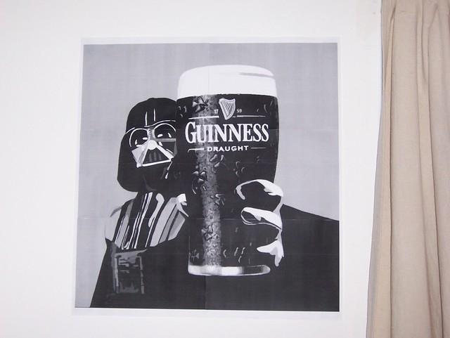 Darth Vader (Guinnes) Poster