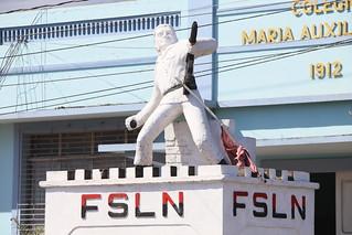 FSLN have a big presence everywhere here.  Granada, Nicaragua.