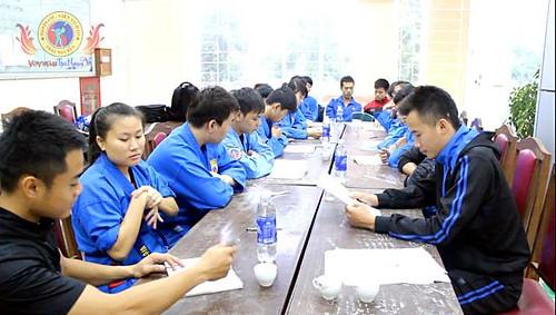 Khai mạc lớp tập huấn trọng tài chuẩn bị cho giải  Vovinam học sinh, sinh viên tỉnh Thái Nguyên năm 2014