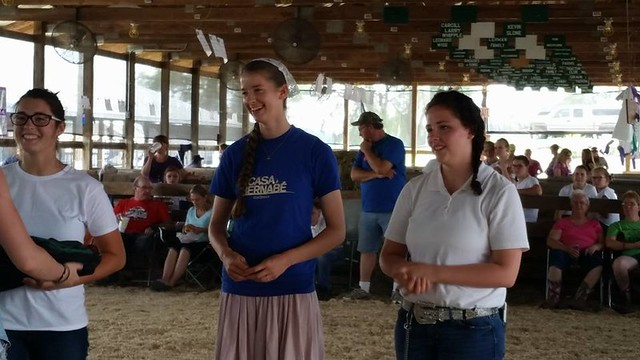 4H Fair 2016: Goat Show & Ice Cream
